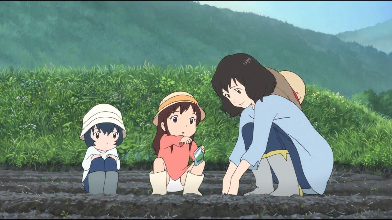 Wolf children (Ōkami Kodomo no Ame to Yuki)