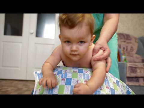 BabyBlog: Массаж для детей. Зарядка на фитболе, упражнения на шаре