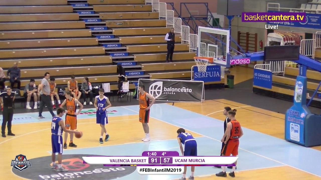 U14M - VALENCIA BASKET vs. UCAM MURCIA - 5/6 Campeonato de España Infantil Masculino