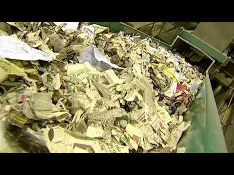 Wie ensteht Recyclingpapier