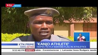 Meet the Eldoret 'Kanjo Athlete' who hopes to fly Kenyan flag