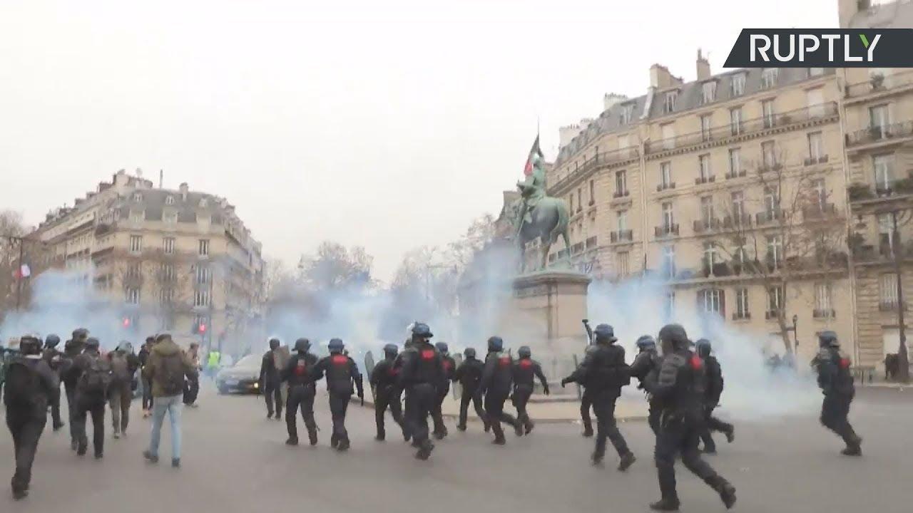 Γαλλία: Σε συναγερμό ενόψει της νέας κινητοποίησης των «κίτρινων γιλέκων»