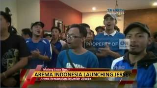 Video Arema Indonesia Launching Jersey Anyar
