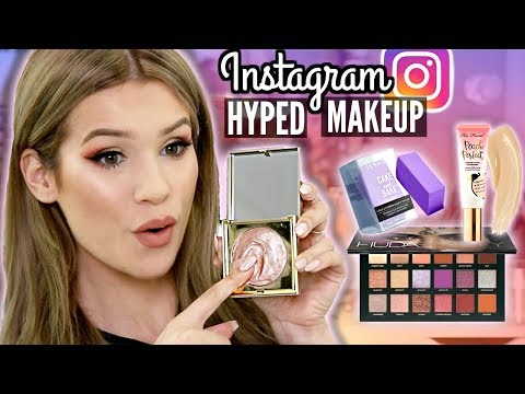 FULL FACE Testing VIRAL INSTAGRAM MAKEUP! Are They Worth the HYPE?!