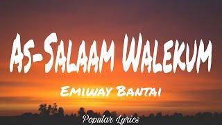 AS-SALAAM WALEKUM (LYRICS) - EMIWAY   - YouTube