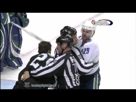 Ryane Clowe vs. Aaron Rome
