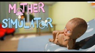 【五歌】聽說巨蟹座充滿了母性的光輝? 科科! ——媽媽模擬器Mother Simulator