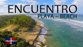 "Encuentro ""Playa"" Beach ~ Dominican Republic ~Caribbean Drone Footage ~WeBeYachting.com"