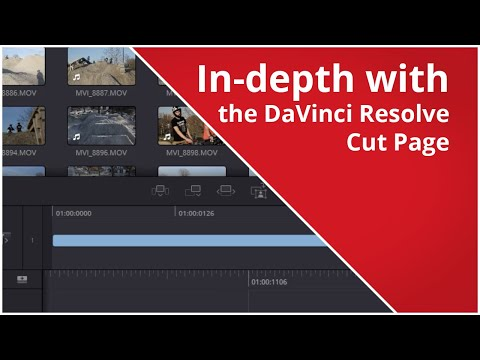In-depth tutorial on the DaVinci Resolve Cut Page