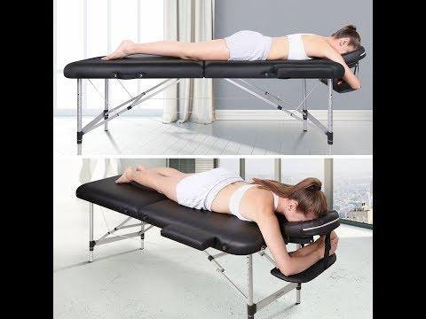 Naipo Massageliege Klappbar 2 Zonen Bestseller