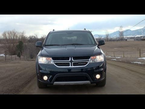2014 Dodge Journey AWD Review: Is this really a Man Van?