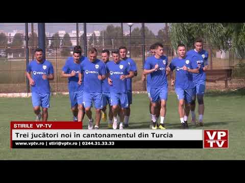 Trei jucători noi în cantonamentul din Turcia
