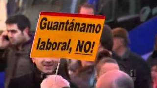Spain Protests Labour Law Changes