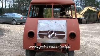 preview picture of video 'Mikrobus Nysa N59 z Polska na Kołach - 2012.12.01 Busko Zdrój'