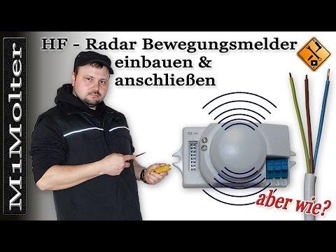 """HF Sensor anschließen """"Alternative für einen Bewegungsmelder"""" von M1Molter"""