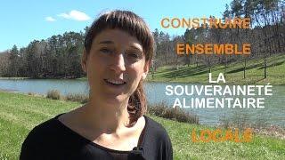 Forum ouvert «Construire ensemble la souveraineté alimentaire locale»
