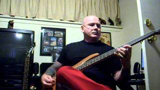 Danzig - Dead Inside Bass Cover
