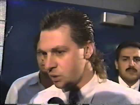 Barry Melrose interview after Stanley Cup Finals loss in 1993