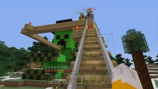 Part 56 - http://youtu.be/oO4DoiV62UM  In this video I rescue an old friend then start building the track on my roller coaster.   Welcome to my Let's Play of the Xbox 360 Edition of Minecraft. These videos will showcase what I have been getting up to in Minecraft and everything I have built.  All of Minecraft - http://www.youtube.com/playlist?list=PL455493CB1440221D  My main channel - http://www.youtube.com/stampylongnose  Twitter - @stampylongnose  Facebook - www.facebook.com/stampylongnose  Podcast - https://itunes.apple.com/gb/podcast/stampys-lovely-podcast/id590290102?mt=2  Email - stampylongnose@hotmail.co.uk