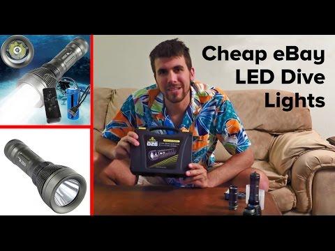Scuba Dive LED Lights Review – XM-L T6 and Xtar D26