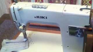 JUKI TL-72 革縫い 手回し改造ミシン