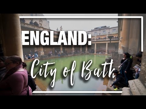 England: Things to do in City of Bath - Roman Baths, Jane Austin, and Bus tours
