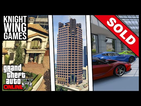 HOW TO SELL YOUR APARTMENT, HOUSE OR GARAGE IN GTA 5 ONLINE