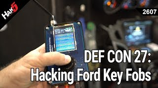 DEF CON 27: Hacking Ford Key Fobs with Woody - Hak5 2607