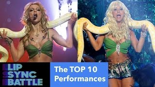 The TOP 10 BEST Lip Sync Battle Performances