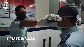 Protokol Memasuki Area Lapas Narkotika Jakarta Pada Masa Pandemi Covid-19
