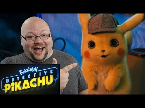 POKÉMON Detective Pikachu Trailer REACTION - This Is Actually Happening!