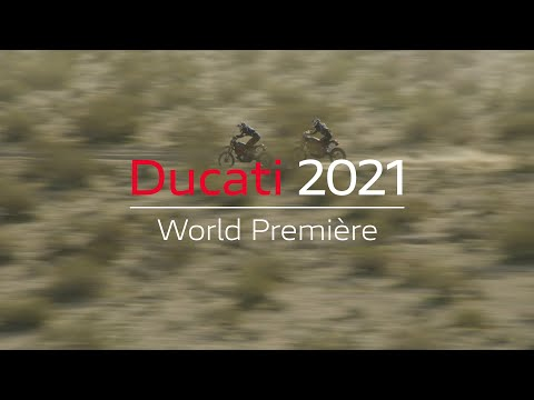 2021 Ducati Scrambler Desert Sled Fasthouse LE in Philadelphia, Pennsylvania - Video 1