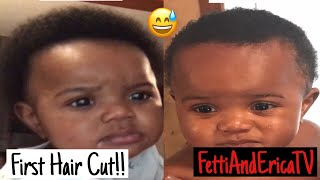 Vlog: Baby's First Hair Cut!!/Baby Gets his Helmet!