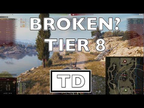 WOT - Most Broken OP Tier 8 TD | World of Tanks