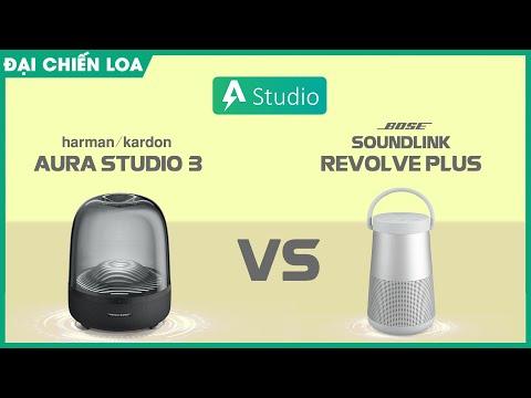 [Đại chiến loa] H/K Aura Studio 3 vs Bose Soundlink Revolve Plus| Đại chiến âm thanh 360 độ