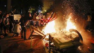 Sexta noche de disturbios raciales en Estados Unidos