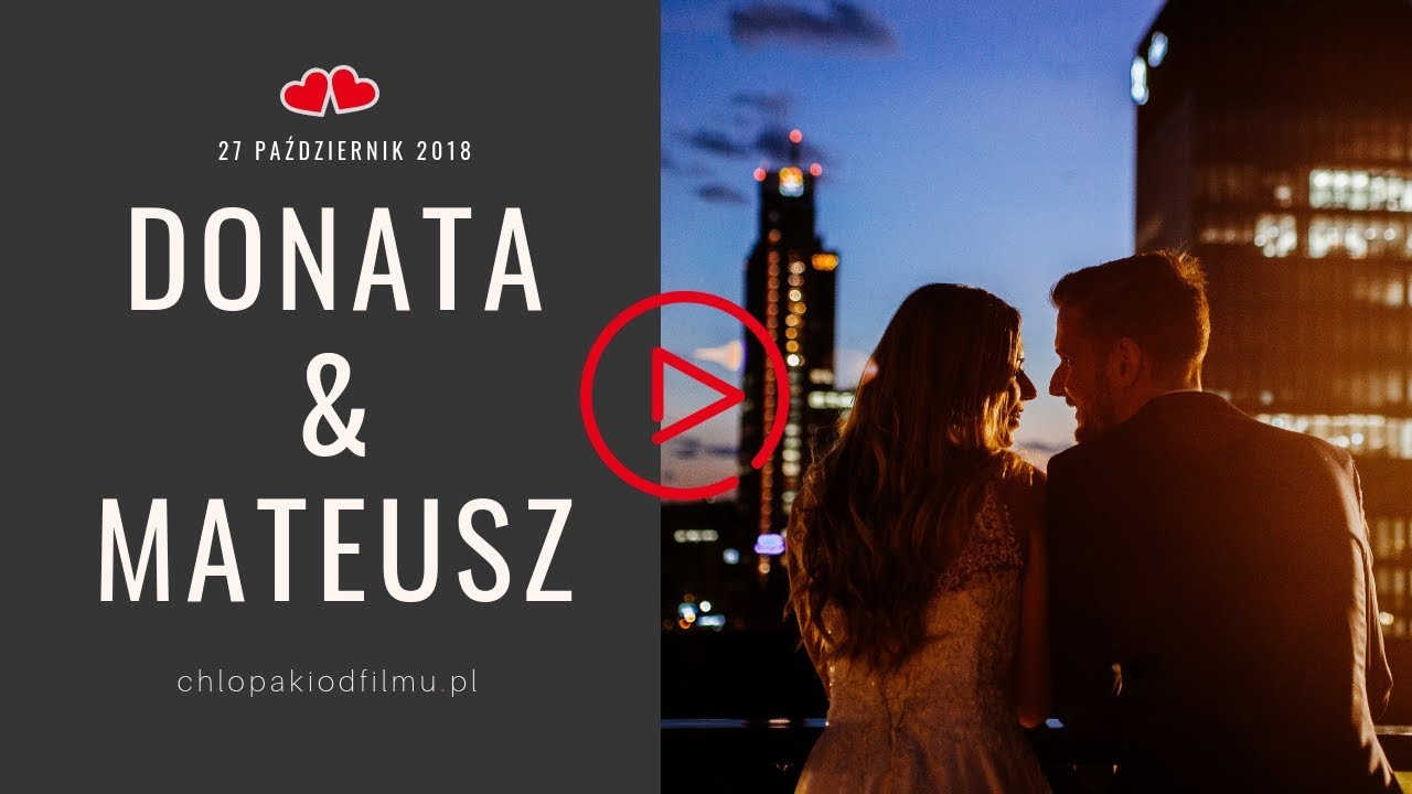 Skrót Donata & Mateusz 27.10.2018
