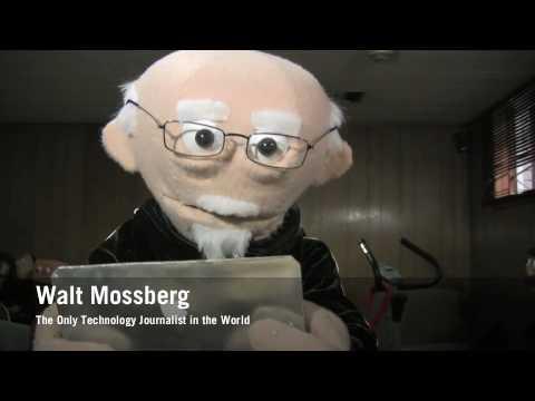 Walt Mosspuppet Reviews The Apple Tablet