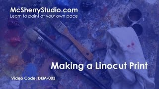 Demo: Linocut