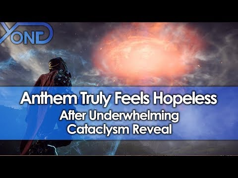 Anthem Truly Feels Hopeless After Underwhelming Cataclysm Reveal