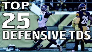 Top 25 Defensive Touchdowns of the 2017 Season! | NFL Highlights
