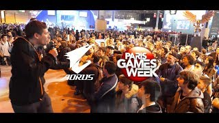 Show Highlights│AORUS at Paris Games Week 2017