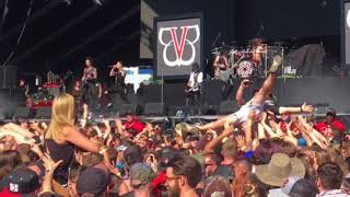 Welcome to Rockville 2018 - Black Veil Brides - Knives and Pens
