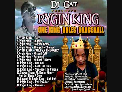 DANCEHALL MIX SEPTEMBER 2018 DJ GAT RYGIN KING ONE KING RULES 1876899-5643