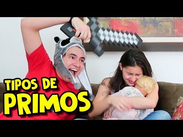 Pronunție video a primos în Portugheză