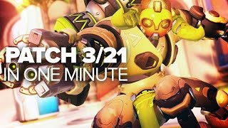 Overwatch March 21st Patch in a Minute