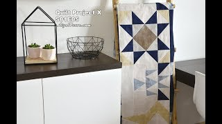 Quilt Project - Tutorial S01E05 - Patchwork Block Half Square & Half Rectangle