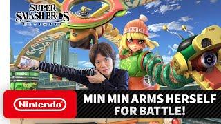 """Super Smash Bros. Ultimate – Mr. Sakurai Presents """"Min Min"""""""