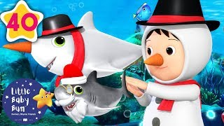 Baby Shark Dance | Christmas Edition | Baby Songs | +More Nursery Rhymes | Little Baby Bum