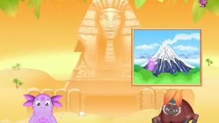 Лунтик - загадки Сфинкса. Развивающий мультфильм для детей.